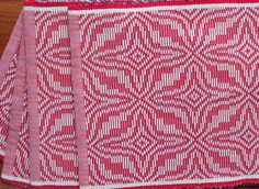Rep Weave Placemats, 4 shaft