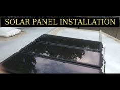 Harbor Freight Solar panel ReInstallation …6×10 Enclosed Trailer Conversion Project