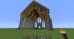 Possible Minecraft project - build a cathedral.