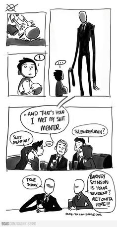 Slender / How I met your mother.