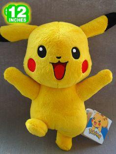 Pokemon Pikachu Plush Doll PNPL8027