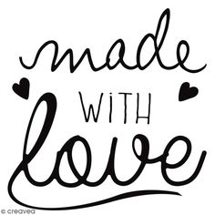 Compra nuestros productos a precios mini Sello de madera Made With Love corazones - 4 x 4 cm - Entrega rápida, gratuita a partir de 89 € !