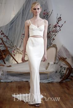Brides: Elizabeth Fillmore Wedding Dresses   Spring 2016   Bridal Runway Shows   Brides.com | Wedding Dresses Style