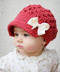süßer Baby Hut näher
