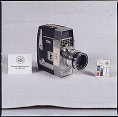 Eyewitness Abraham Zapruder's Bell & Howell movie camera. It is now in safe keeping at the National Archives along with the camera original of the film.