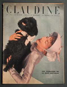'CLAUDINE' FRENCH VINTAGE MAGAZINE FASHION ISSUE 18 FEBRUARY 1948 | eBay