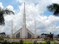 Click to download this wallpaper image of the Manila Philippines Mormon Temple
