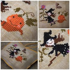 Stitcher: Ancsi (Hungary)  - Design: The Snowflower Diaries: Autumn Witch 2013