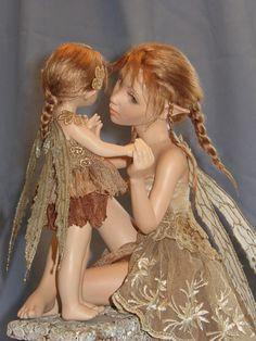 Autumn Fairytale - Hannie Sarris Fairy Fantasy Sculptures