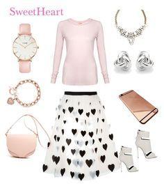 """SweetHeart"" by danivsdaniella on Polyvore featuring Alice + Olivia, CLUSE, Giuseppe Zanotti, Georgini, Michael Kors and Sundry"