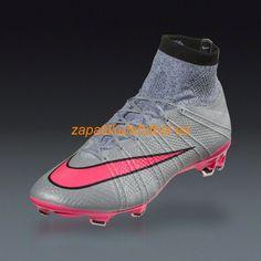 20574b2b7addb Nuevo Zapatillas Futbol Nike Mercurial Superfly FG Lobo Gris Hyper Rosado  Negro