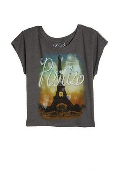 81708684322 dELiAs   Paris Love City Tee   tops   graphic tees   view all graphic tees