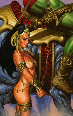 Warlord of Mars #30 - Dejah Thoris by Joe Jusko  Auction your comics on http://www.comicbazaar.co.uk