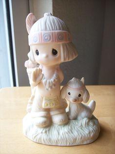 """1978 Precious Moment """"O How I Love Jesus"""" Figurine - Religious, Inspirational"""