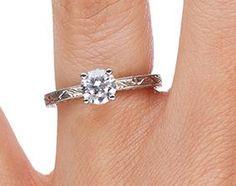 Hand-Engraved Laurel Ring  Love it