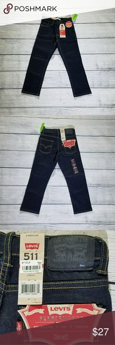 Levis jeans •boys jeans •new with tag •size 6 Levi's Bottoms Jeans