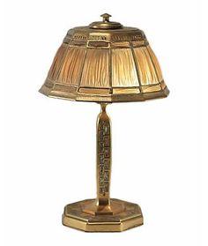 Tiffany Studios Desk Lamps height: 17.5 in.  x diameter: 10 in.