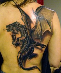 Best tattoo style concepts, the fantasy dragon tattoo for men and women from the traditional black and gray style full color gallery - Arm Tattoos - Black Dragon Tattoo, Dragon Tattoo Back, Dragon Tattoos For Men, Back Tattoo, Tattoo Black, Game Of Thrones Tattoo, Tatouage Game Of Thrones, Tattoos Motive, Bild Tattoos