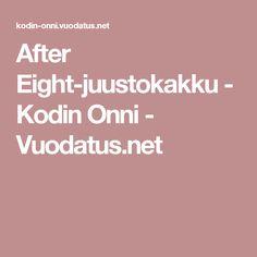 After Eight-juustokakku - Kodin Onni - Vuodatus.net