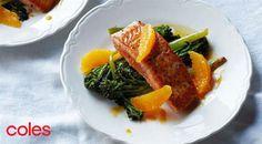 Panfried Salmon with Baby Broccoli and Orange Sauce | MasterChef Australia
