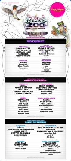 Electric Zoo 2012 - Yup, I'll be there :)