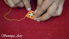 Making of designer beautiful Rakhi/Rakshabandhan with Silk thread Handmade Rakhi Designs, Rakhi Making, Silk Thread, How To Make