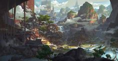 ArtStation - Terrace, G liulian