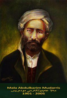 Abdul Karim Mudarris,(1901-2005), Kurdish Writer,poet,translator,and Mufti of Iraq. by Rebwar K Tahir.