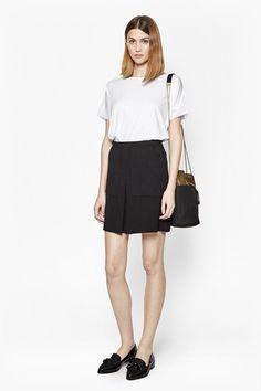 Marie Stretch Mini Skirt