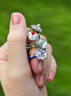 DIY Glass Bead Fairy Rings in 5 Minutes