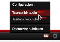 YouTube añade subtítulos automáticos en español