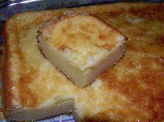 INGREDIENTES 4 ovos 2 copos (requeijão) de farinha de trigo 2 copos (requeijão) de açúcar refinado 1 copo (requeijão) de queijo ralado 3 colheres (sopa) cheia de manteiga 1 copo (requeijão) de leite 1 pitada de sal 1 colher (sopa) cheia de...