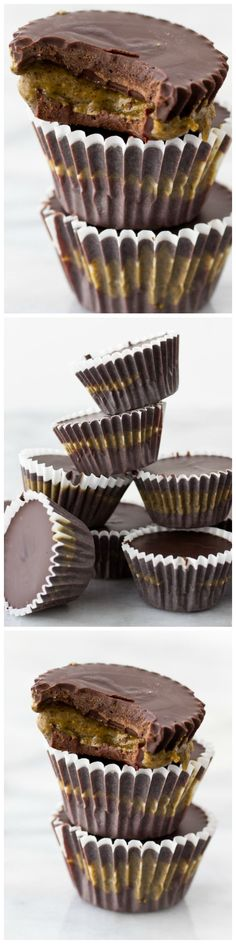 Protein peanut butter cups - a perennial favorite with a shot of protein in every bite!