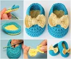 Crochet Booties Free Pattern The WHOot