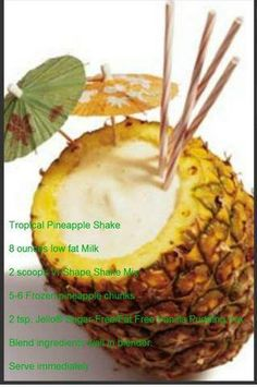 Tropical Pineapple Shake #Project10 #Fitness #weightloss #Healthy #Vi #BodyByVi #Motivation #Workout #ZLoescher #MLM #Successful #Entrepreneur #PersonalTrainer