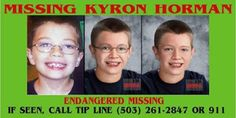 Siri's World Presents The Dissenting Opinion: Kyron Horman, Missing Children, And Harassment