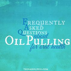 After oil pulling for a year, and blogging about curing cavities with this method, I've been asked dozens of questions. Here's answers to every question I g