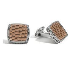 john-hardy-sterling-silver-and-bronze-cufflinks.jpg (500×500)