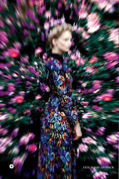 Harpers Bazaar UK Sept 2014 | Katrin Thormann by Erik Madigan Heck
