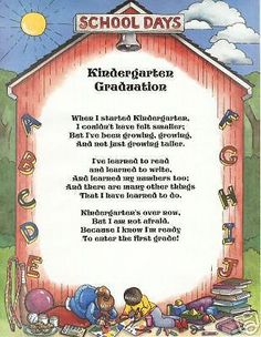Kindergarten Graduation on Pinterest | Kindergarten Graduation ...