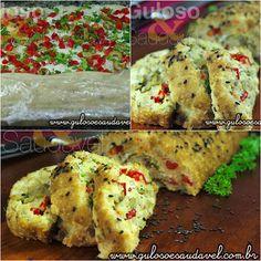 A dica para o #almoço de domingo é o Rocambole de Bacalhau, ou Torta de Bacalhau, com um nome ou outro esta delícia é irresistível.  #Receita aqui: http://www.gulosoesaudavel.com.br/2012/11/21/rocambole-bacalhau/