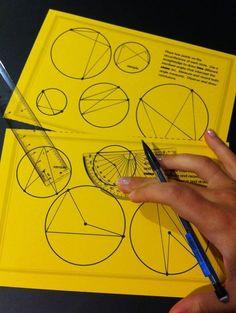 Teaching Geometry for a Deeper Understanding - Activities for all 5 Van Hiele Levels Geometry Lessons, Teaching Geometry, Geometry Activities, Geometry Worksheets, Teaching Math, Math Teacher, Teaching Ideas, Maths, Pi Math