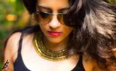 http://www.awhimsicalcloset.com/2013/12/about-me_15.html #goldnecklace #indianfashion #statementnecklace #raybans #fashion #style #fashionblogger #indianfashionblogger #india #redlips