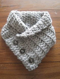 Cowl with Buttons PDF PATTERN ONLY by stork1 on Etsy, $4.00