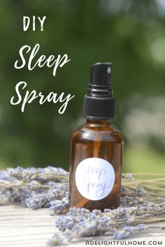 A simple sleep spray or linen spray is a great way to enhance the feeling of calm at bedtime. It takes about one minute to put together and contains just a few ingredients. In this blend, Essential Oil Mixtures, Essential Oils Room Spray, Essential Oils For Sleep, Best Essential Oils, Doterra, Lavender Sleep Spray, Linen Spray, Distilled Water, Bedtime