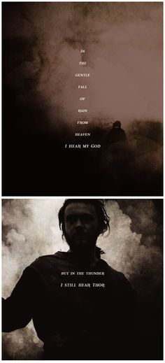Athelstan: I hope that someday our Gods can become friends. #vikings