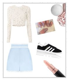 """🤙🏼"" by titilde11 on Polyvore featuring mode, A.L.C., Zimmermann, adidas et MAC Cosmetics"
