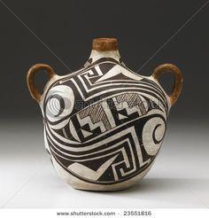 Indian pottery. Pottery Bowls, Ceramic Pottery, Ceramic Art, Native American Pottery, Native American Art, Indian Crafts, Indian Art, Coil Pots, Southwest Art