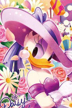 Daisy Duck (c) Walt Disney Animation Studios Mickey Mouse Wallpaper, Wallpaper Iphone Disney, Cute Disney Wallpaper, Disney Cartoon Characters, Disney And Dreamworks, Disney Cartoons, Mickey Mouse Y Amigos, Mickey Mouse And Friends, Disney Images