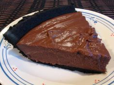 Chocolate Pie ( To die for)...... Probably the easiest chocolate pie recipe you will find, this one is a big winner with everyone who tries it.